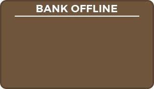 bank offline